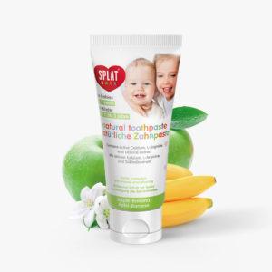 SPLAT BABY Jablko-banán zubní pasta 0-3 roky