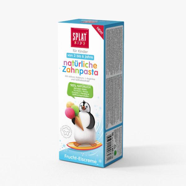 SPLAT KIDS Ovocná zmrzlina zubní pasta 2-6 let 50ml