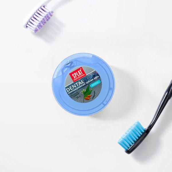 SPLAT Professional zubní nit expandující Kardamom 30m