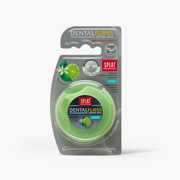 SPLAT Professional zubní nit expandující Bergamot-Limetka 30m