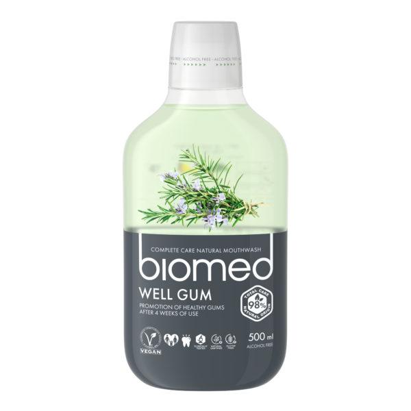 Biomed Well Gum ústní voda 500ml